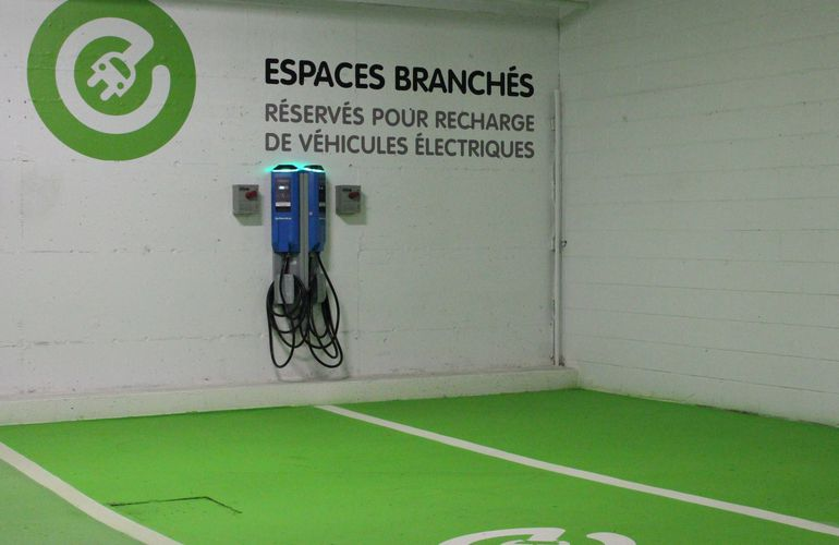 charging point